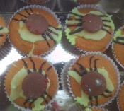 monet spider cakes may2015